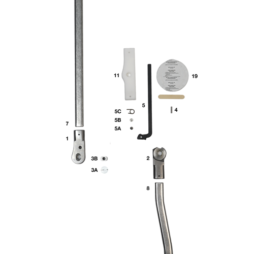 Automatic Angled Lever Lock Heavy Duty