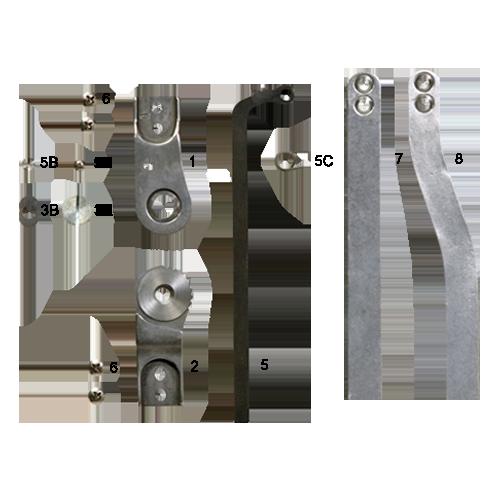 Modular Ratchet Lock Knee Joint