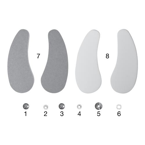 Polypropylene Oklahoma Ankle Joint