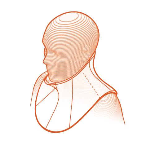 Talarmade Headup Collar