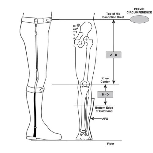 Bilateral Hip-Ankle Torsion Shafts Attached to AFO