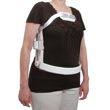 Hyperextension TLSO with Quick Release Closure