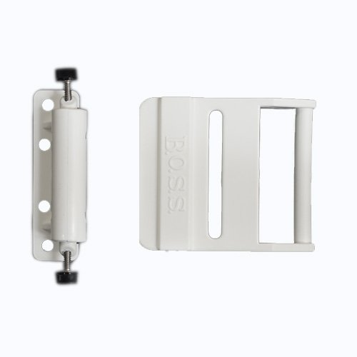 Latch Arm Buckle & Spring Release for QR Closure