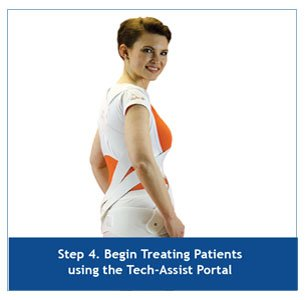 Step 4. Begin treating patients using the Tech-Assist Portal